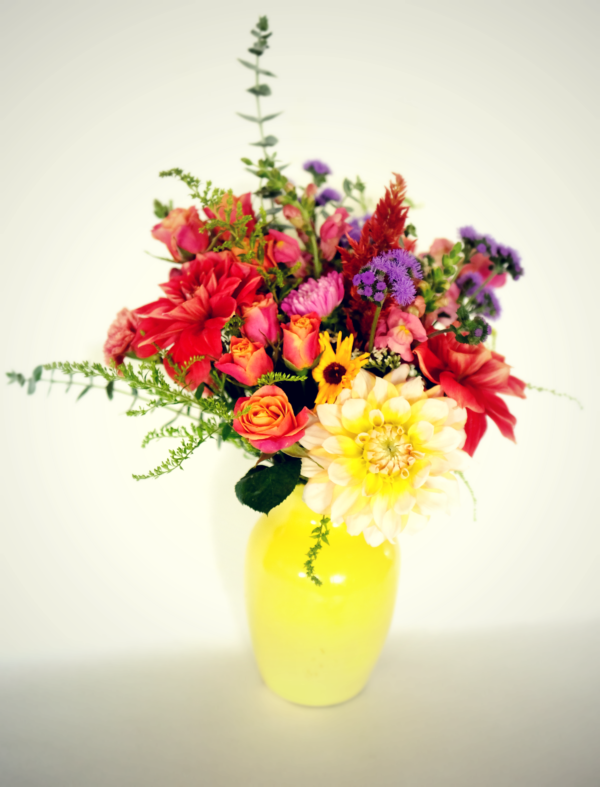 """The Happy"" Fresh, local, flowers - perfect for any occasion!"