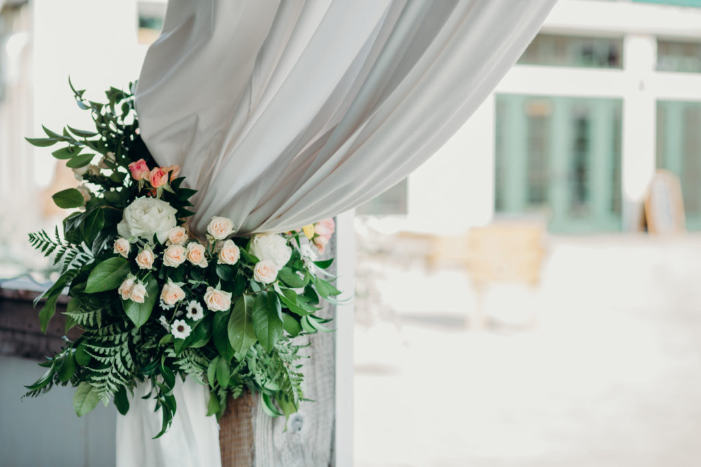 floral wedding decoration